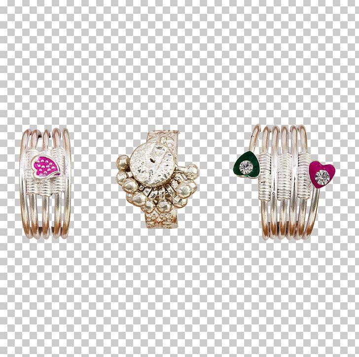 Earring Jewellery Silver Toe Ring G. R. Thanga Maligai PNG.