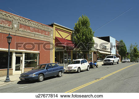 Stock Photo of Kellogg, ID, Idaho, Silver Mountain Resort.