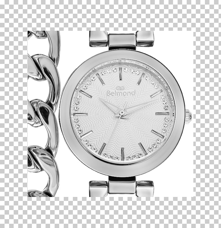 Watch strap Silver, watch PNG clipart.