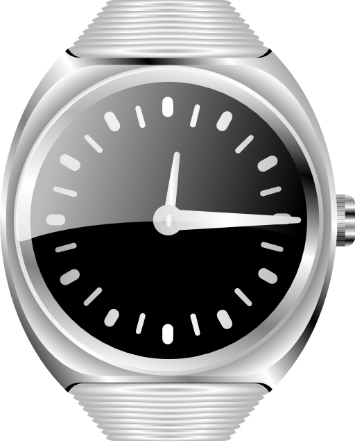 See clipart silver watch, See silver watch Transparent FREE.
