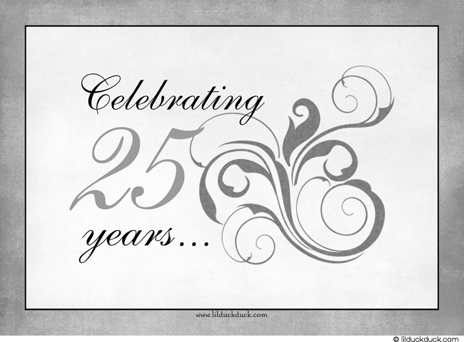 Silver Wedding Anniversary Clipart: Happy th anniversary pictures.