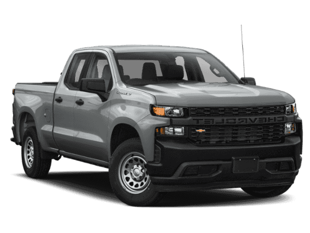 New 2019 Chevrolet Silverado 1500 LT 4WD 4D Double Cab.