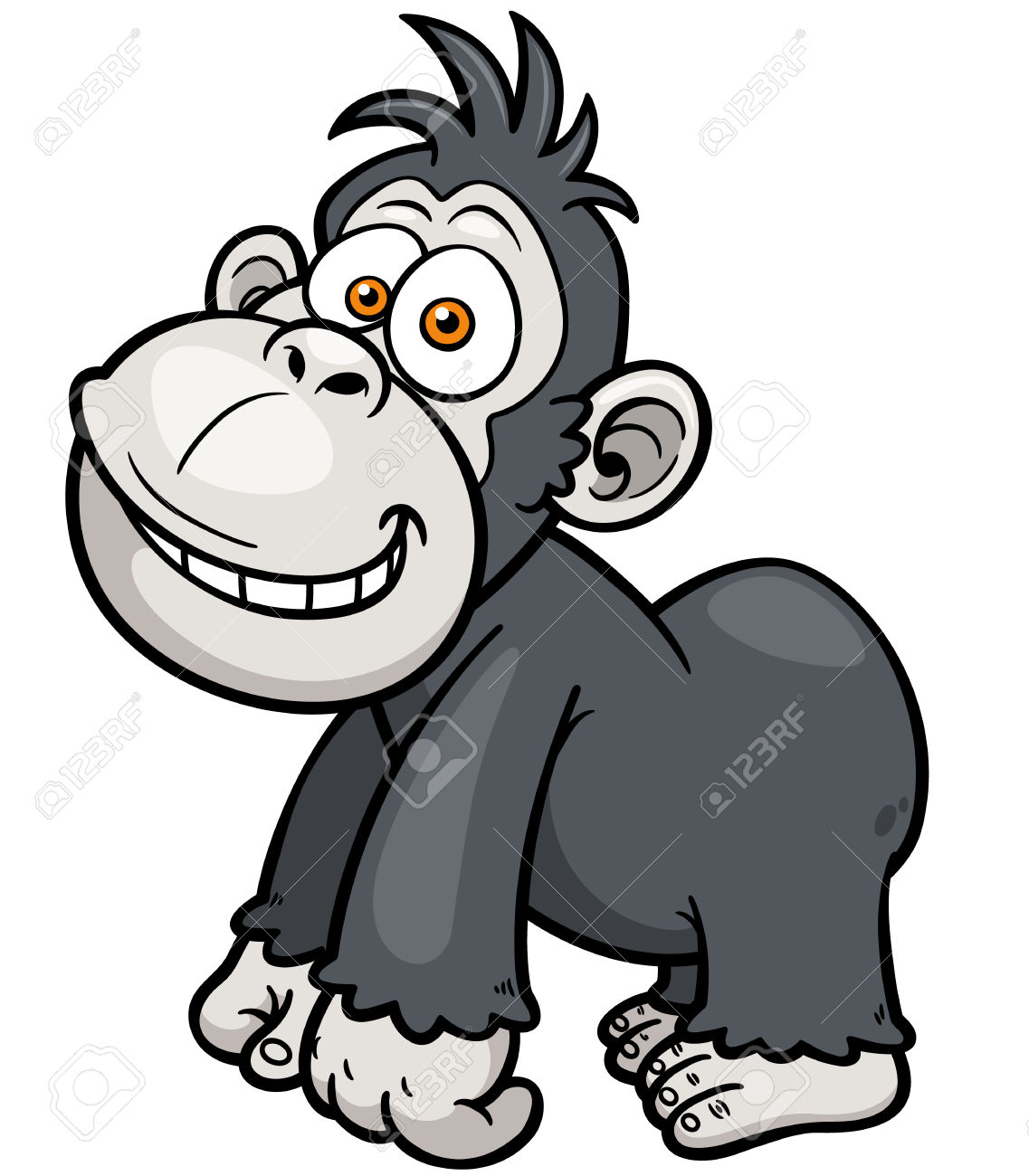 698 Silverback Stock Vector Illustration And Royalty Free.