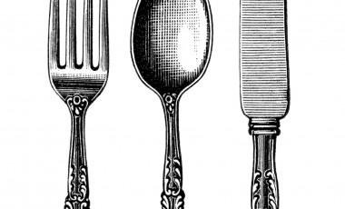 Silverware Clip Art.
