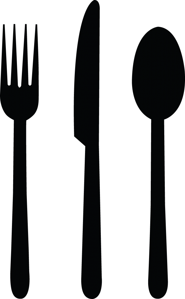 Dinner Silverware Clipart.