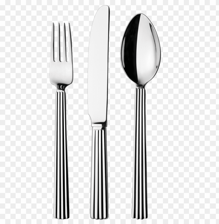 silverware png PNG image with transparent background.