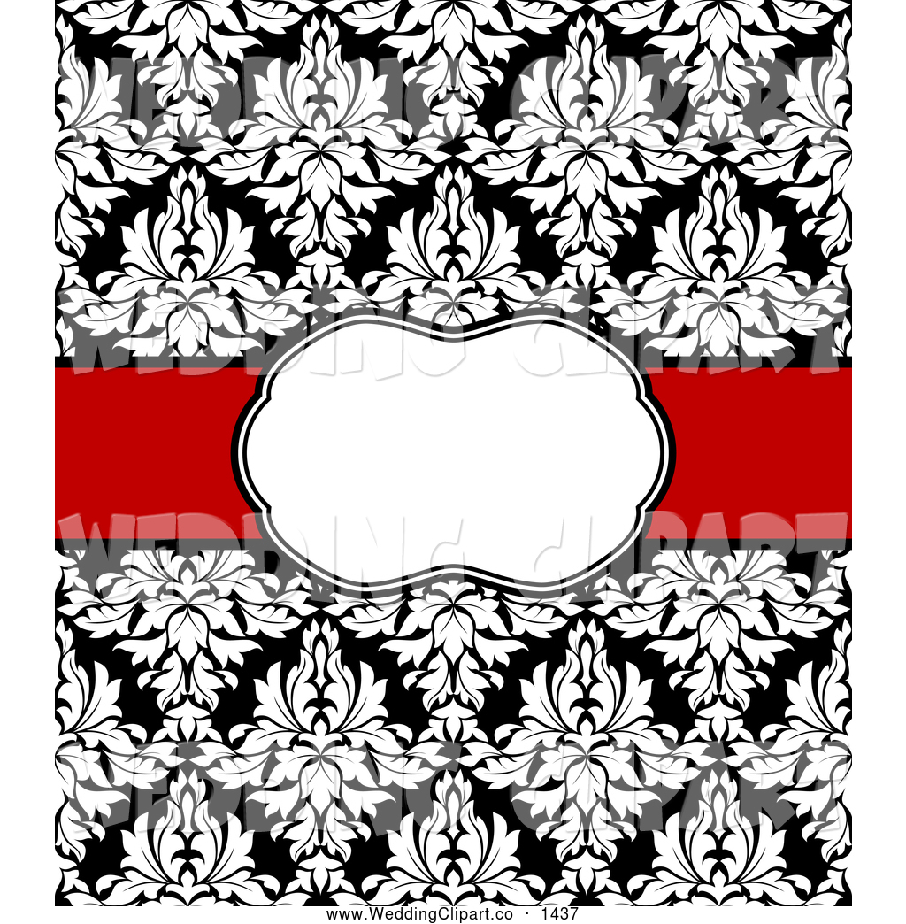Silver white damask clipart.