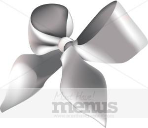Silver Ribbon Clipart.