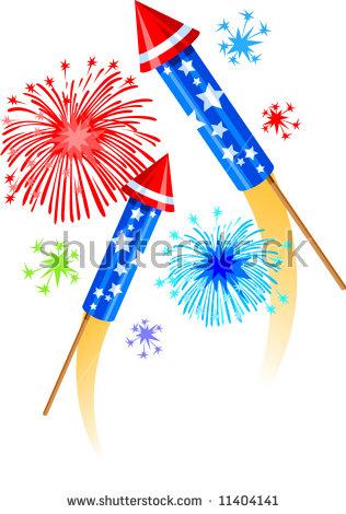 Firework Rocket Stock Photos, Royalty.