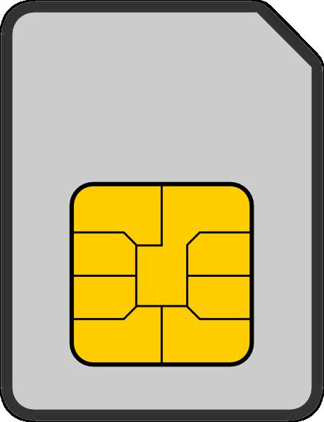 Sim Card Clip Art at Clker.com.