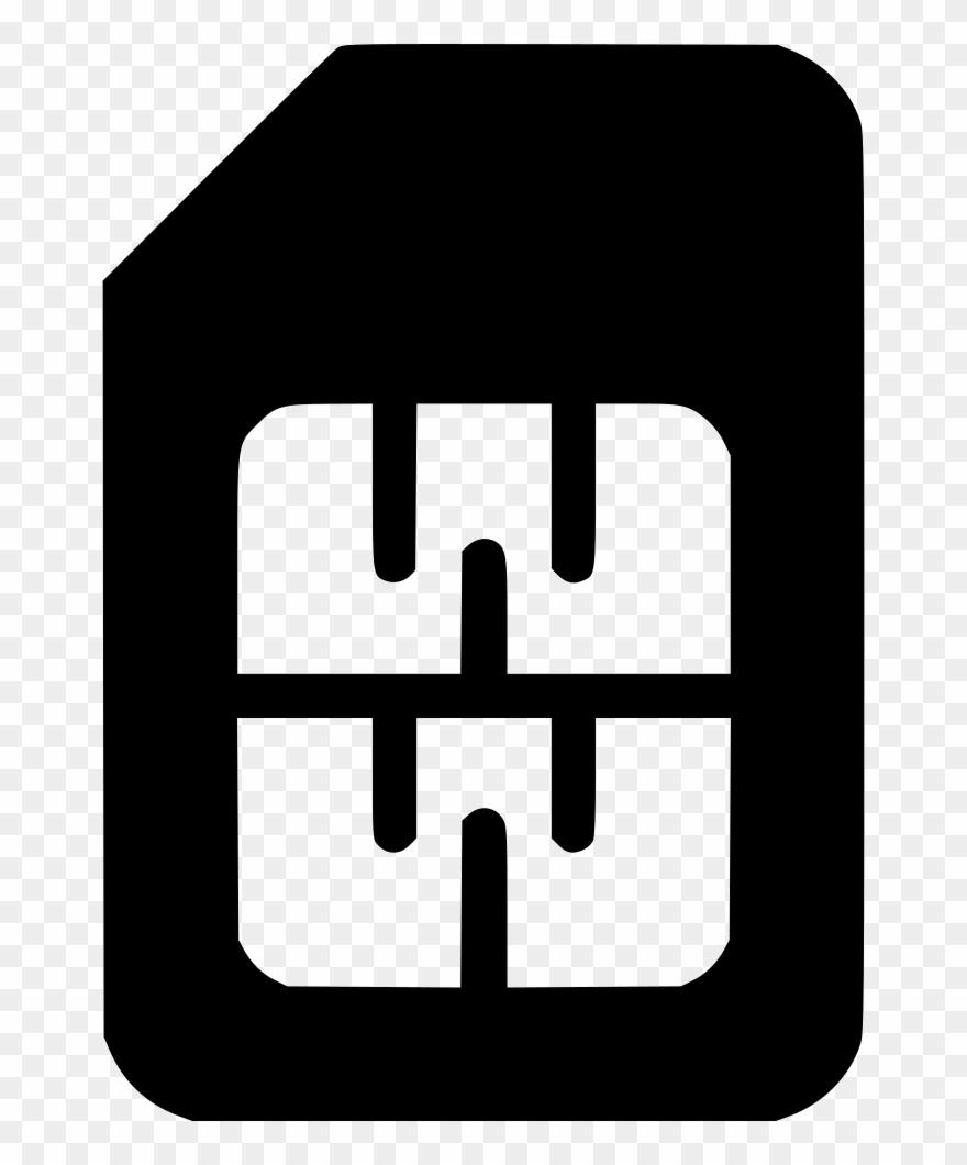 Sim Card Clipart Svg.