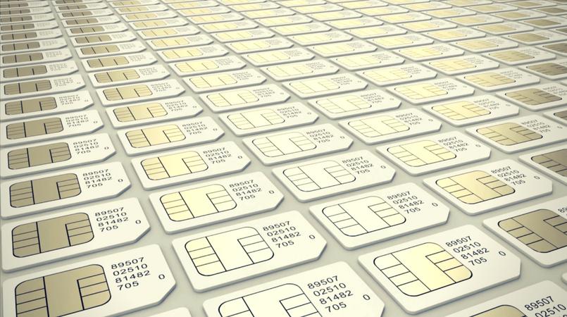 OC files reference on SIM registration.
