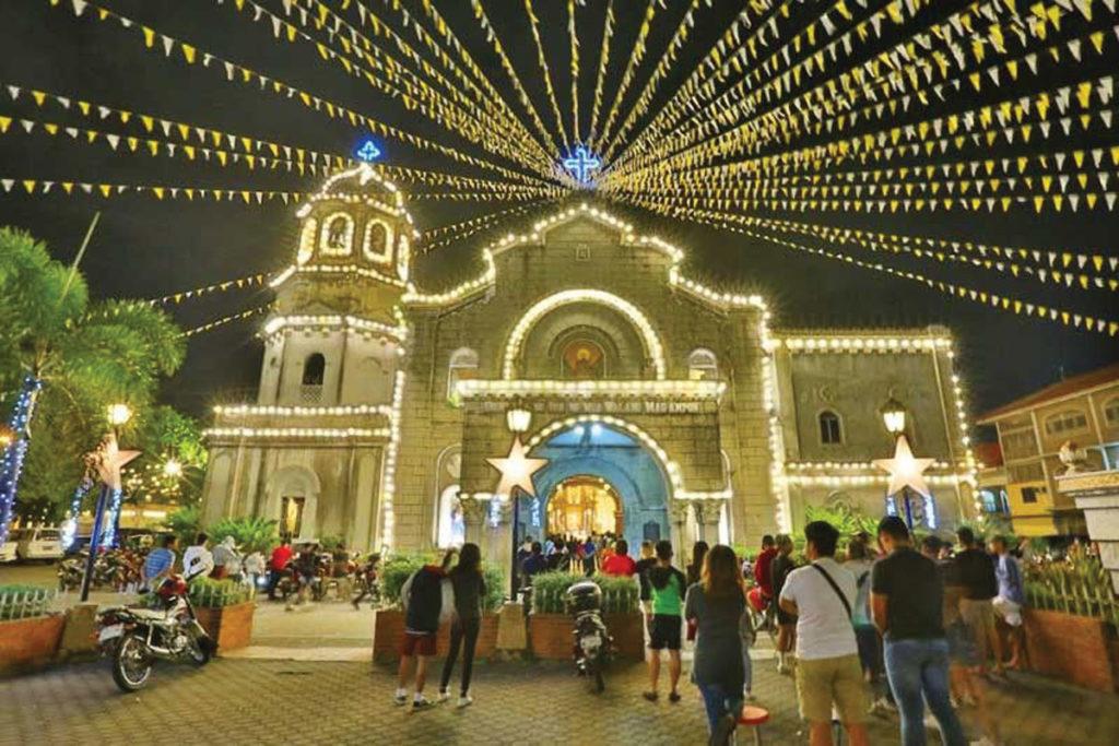 Simbang Gabi\' at Holy Redeemer in Bangkok on December 16.