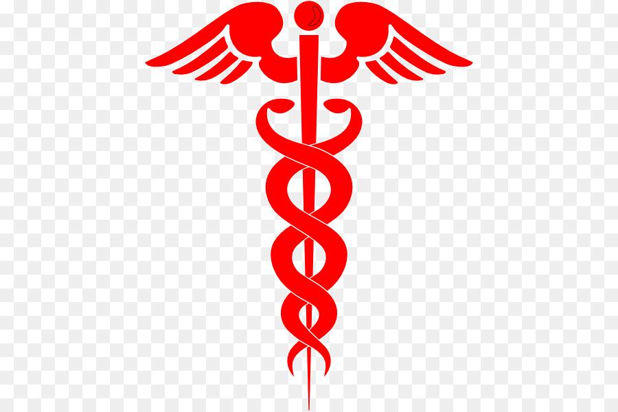 Il personale di Hermes Caduceo, simbolo di medicina Clip art.