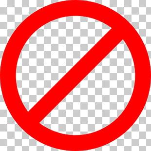 No hay signo de símbolo, signos prohibidos, no a la.