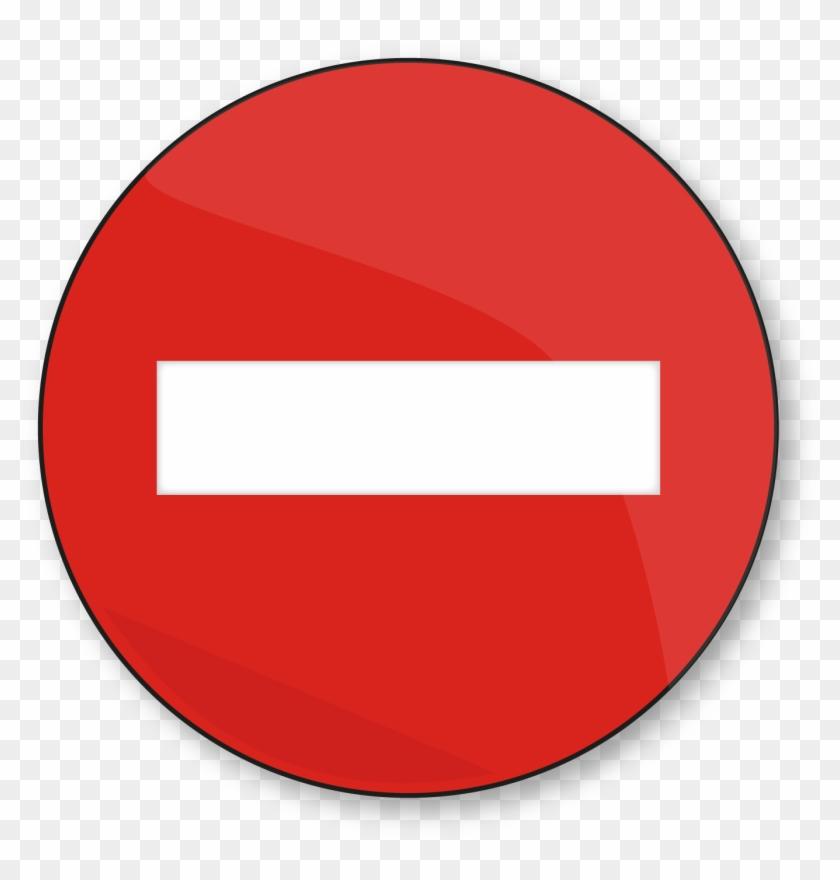 Simbolo Prohibido Png.