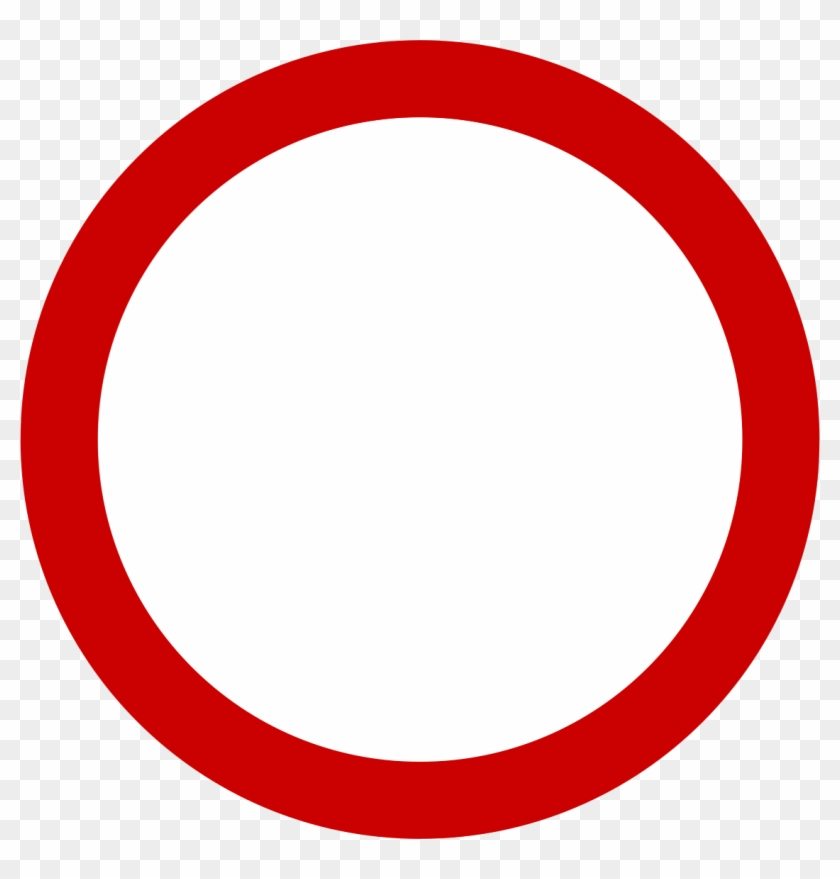 Simbolo De Prohibido Png.