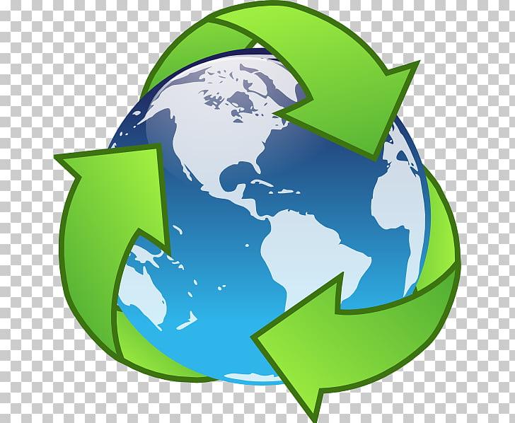 Símbolo de reciclaje de la tierra, ahorro s PNG Clipart.