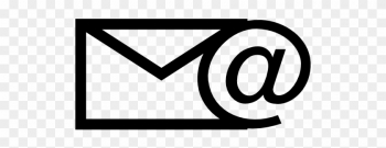 Email Clip Art Black And White.