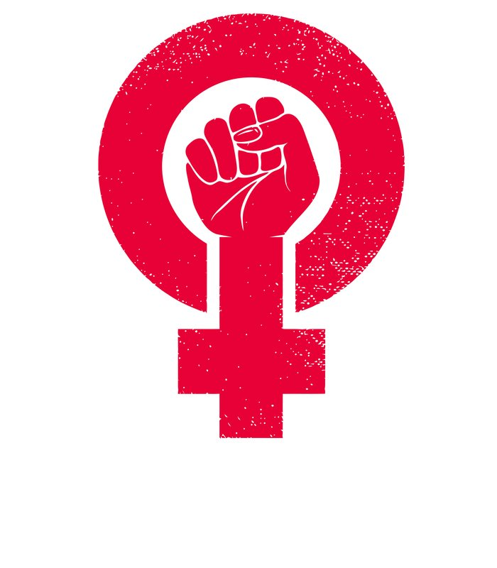 Moletom SIMBOLO DO MOVIMENTO FEMINISTA de Diana Marcato.