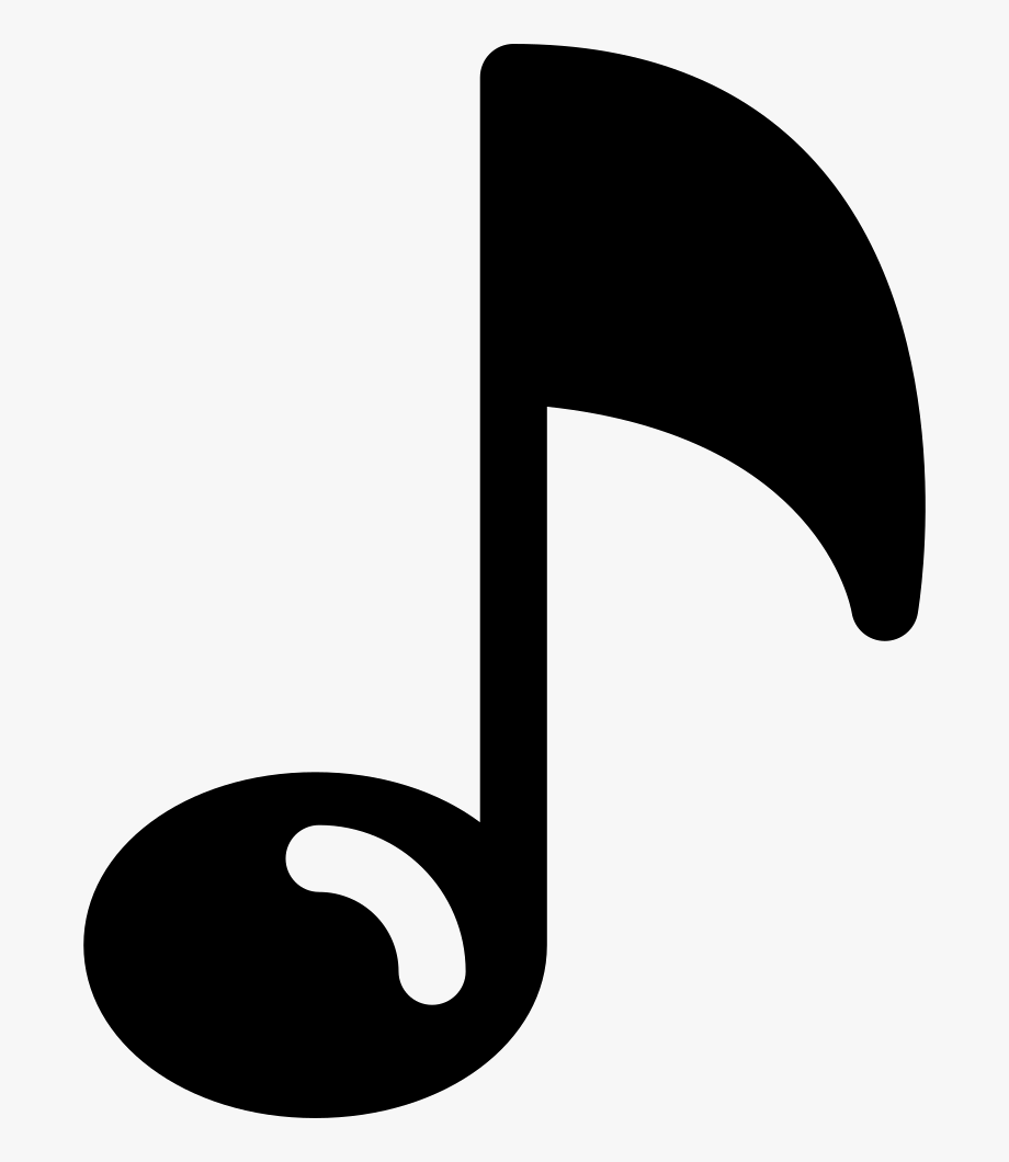 Musical Note With Shine.