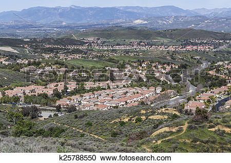Stock Photography of Wood Ranch Simi Valley California k25788550.