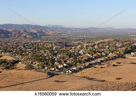 Stock Photograph of Simi Valley California k16560059.