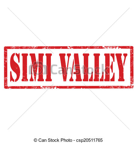 Clip Art Vector of Simi Valley.