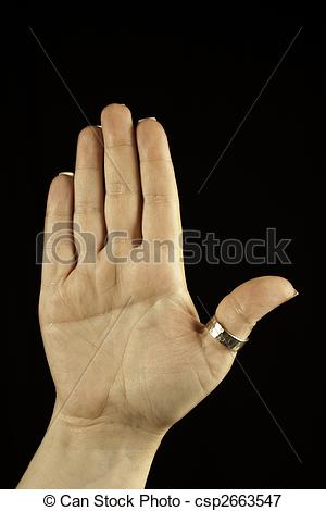 Picture of Right Hand with Simian Crease.