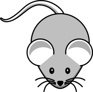 Light Gray Mouse Clip Art at Clker.com.