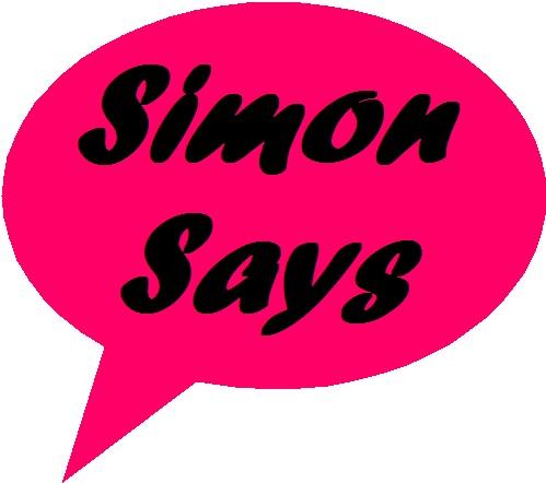 Simon Says Clipart.