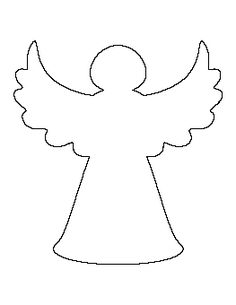 Angel clipart outline, Angel outline Transparent FREE for.