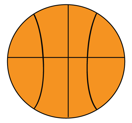 Basketball Clipart Easy.