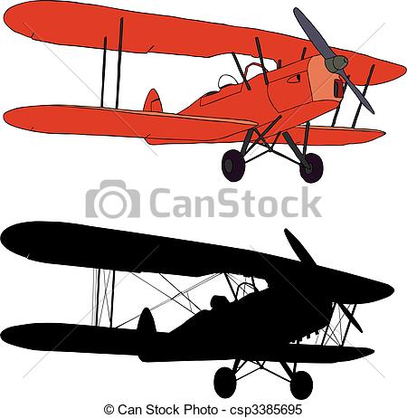 Biplane Clip Art and Stock Illustrations. 982 Biplane EPS.