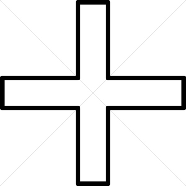 Simple Equal Sided Cross.