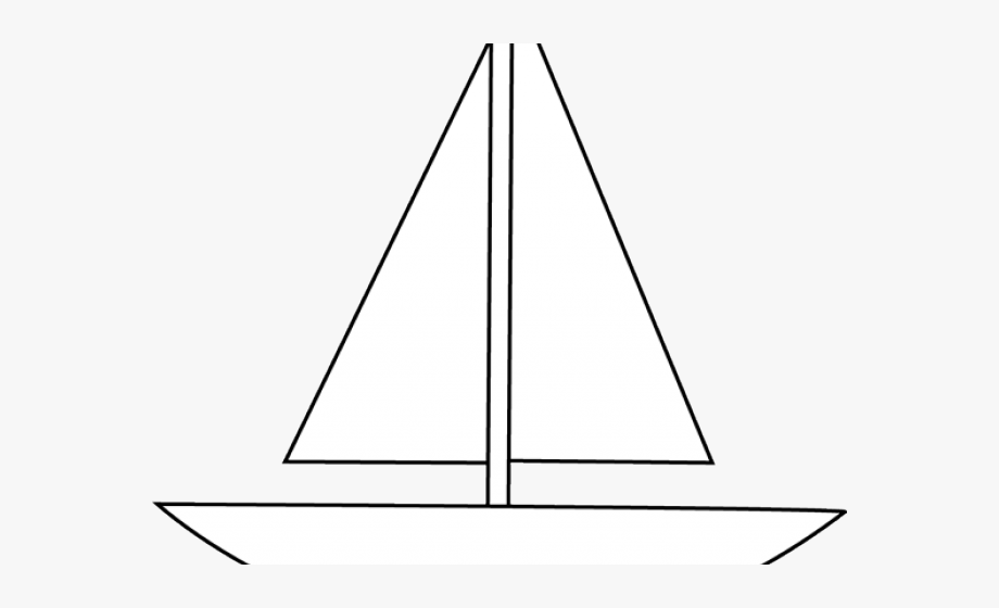 Simple Boat Cliparts.