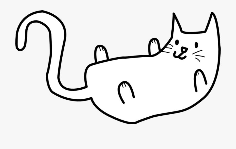 Cat Clipart Simple.