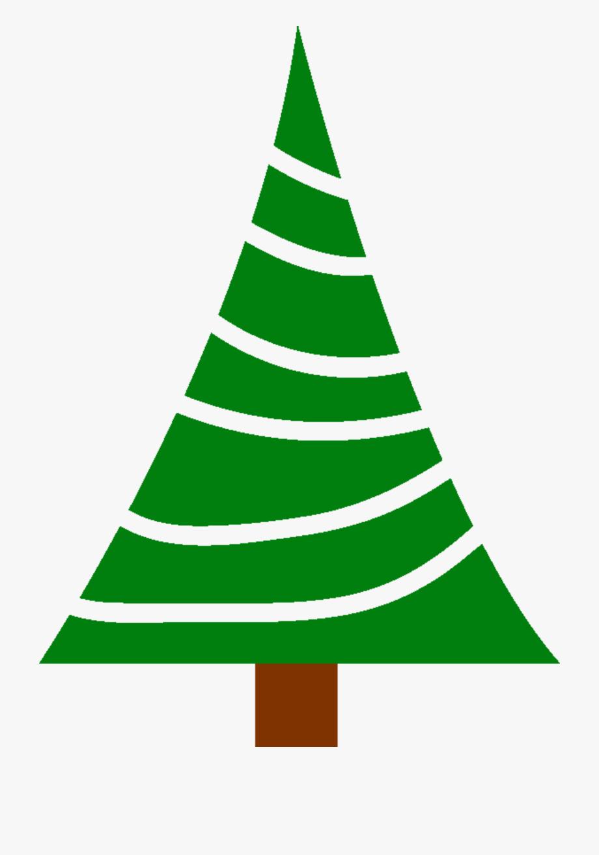 Simple Christmas Tree Clipart , Transparent Cartoon, Free.