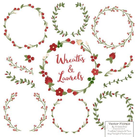Premium Floral Wreaths & Laurels in Christmas.
