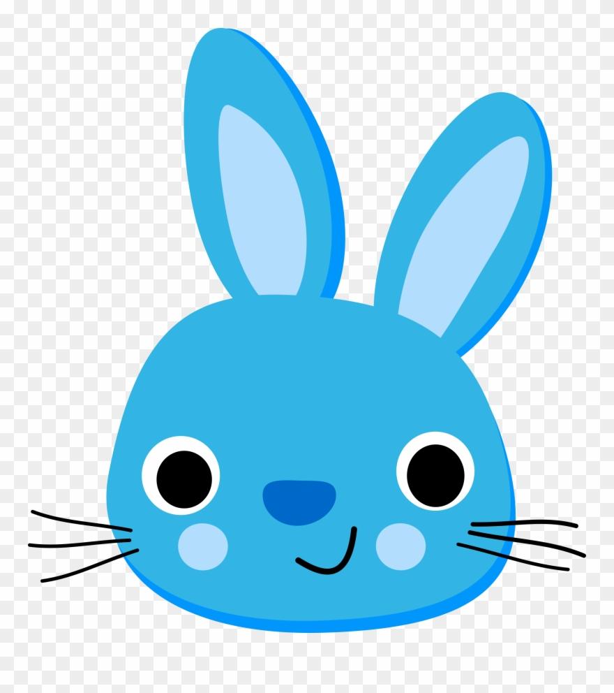 Simple Clipart Bunny.