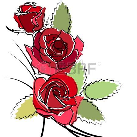 10,180 Simple Rose Cliparts, Stock Vector And Royalty Free Simple.