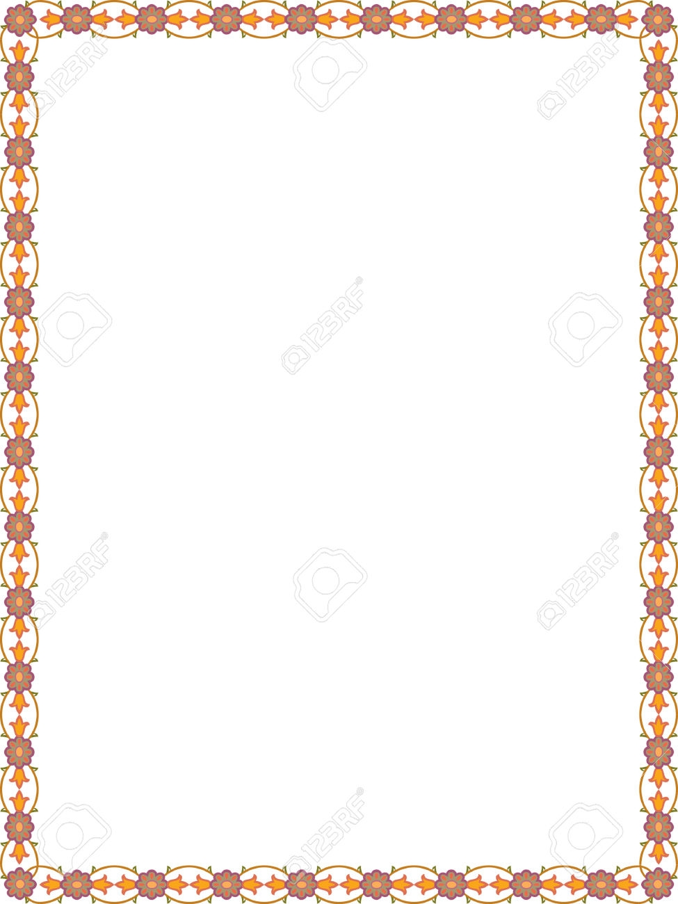 simple color border clipart - Clipground