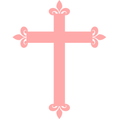 Simple Christian Cross Clipart transparent PNG.