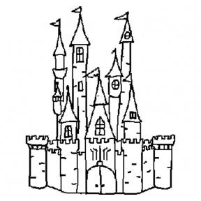 Disney Outline Clipart.