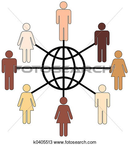 Diversity People Clipart.