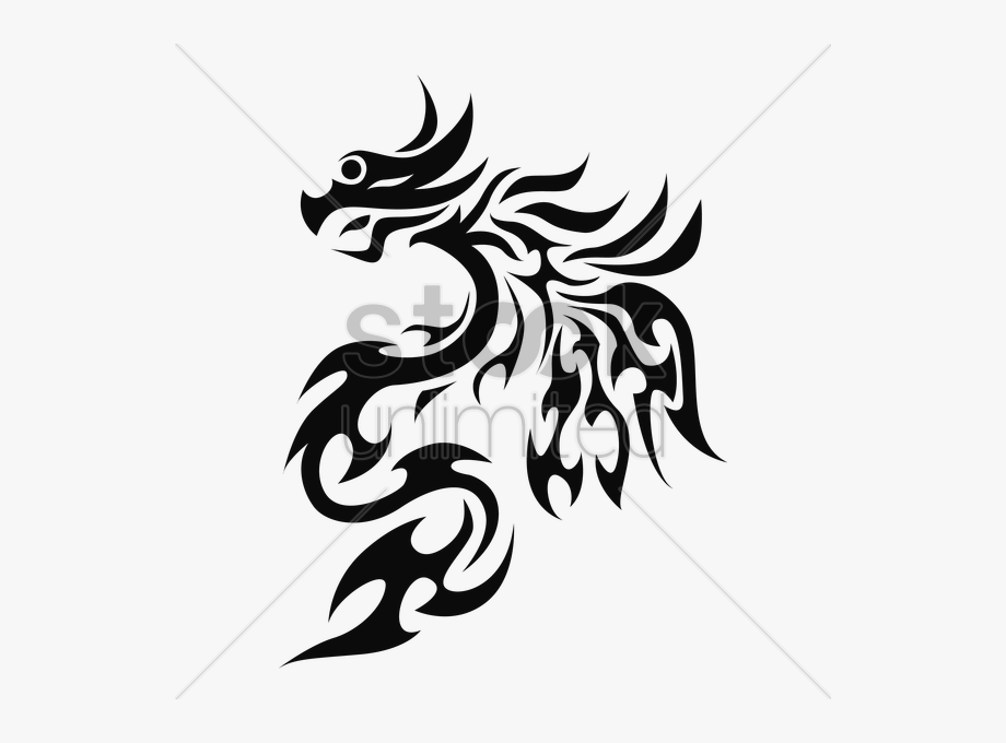 Dragon Clipart Simple.