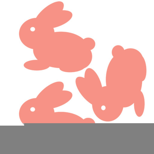 Easter Bunny Clipart For Kids.