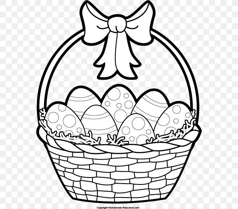 Easter Bunny Easter Egg Black And White Clip Art, PNG.