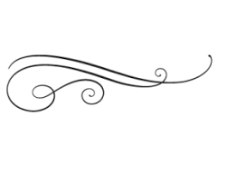 simple flourish clip art.