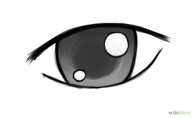 simple eyes clipart #1